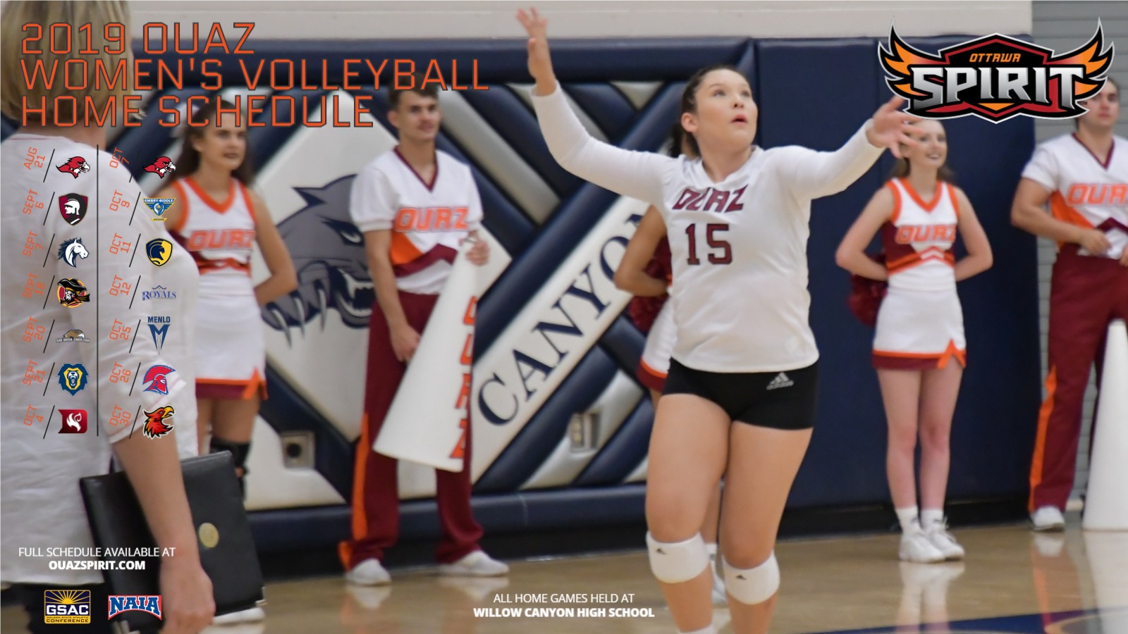 Women's Volleyball - OUAZ Athletics
